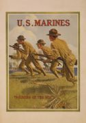 Vintage US Marines Recruitment Poster